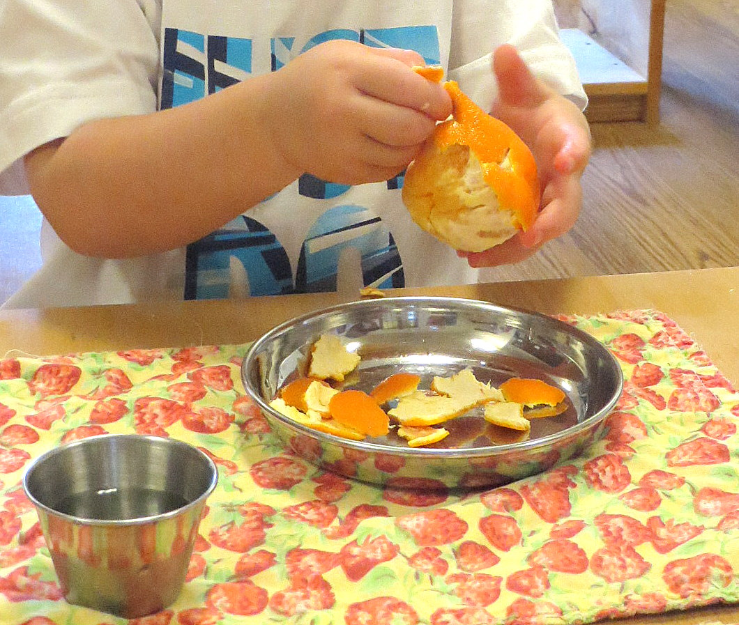 Montessori In The Home Food Preparation Healthy