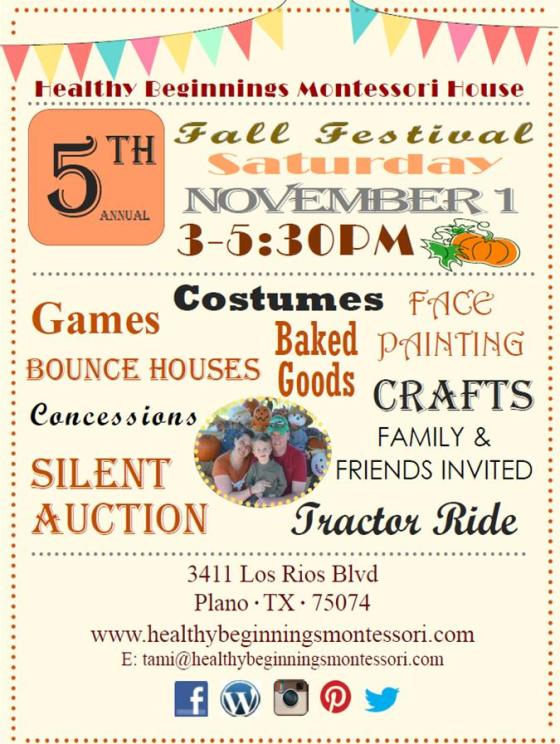 5th Annual Fall Festival Community Event