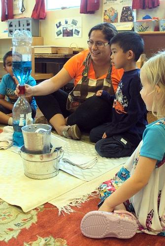 learning alongside children