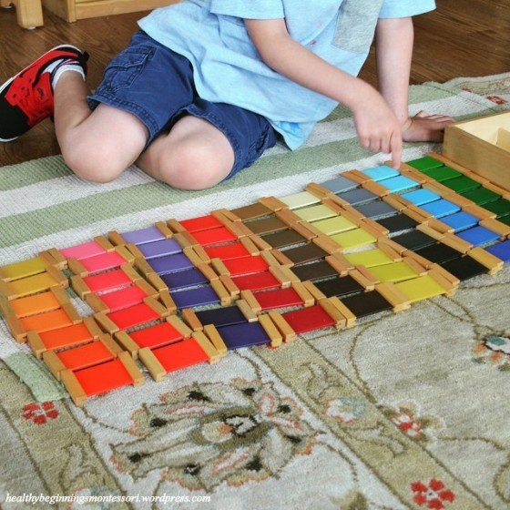 maria montessori sensorial This information is taken from the discovery of the child, especially p136 -138 the sensorial materials help the child to focus one.