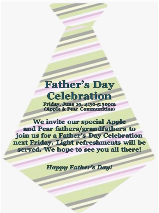 Father's Day Celebration Flyer